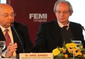 El Presidente del Sanatorio Americano, Dr. Ariel Bango, dijo sentirse orgulloso y agradecido del equipo que integra