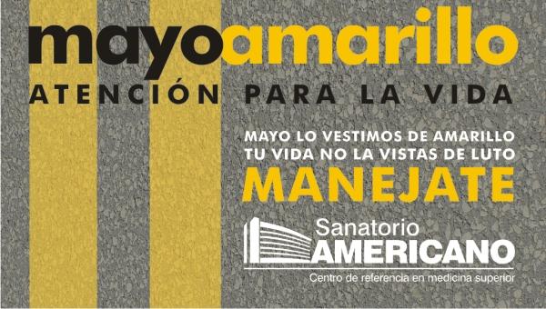 Sanatorio Americano se viste de amarillo