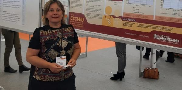 Trabajo de investigación creado en Sanatorio Americano es presentado en el Congreso Europeo de Infectología